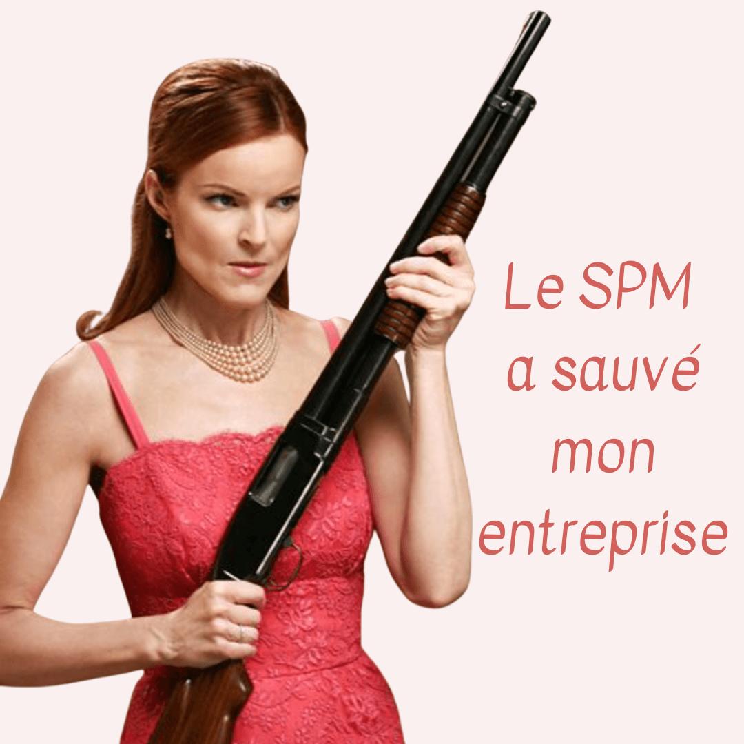 le spm a sauvé mon entreprise