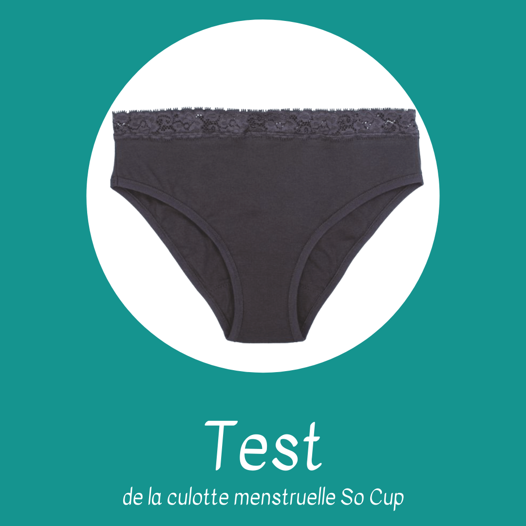 test culotte menstruelle So Cup