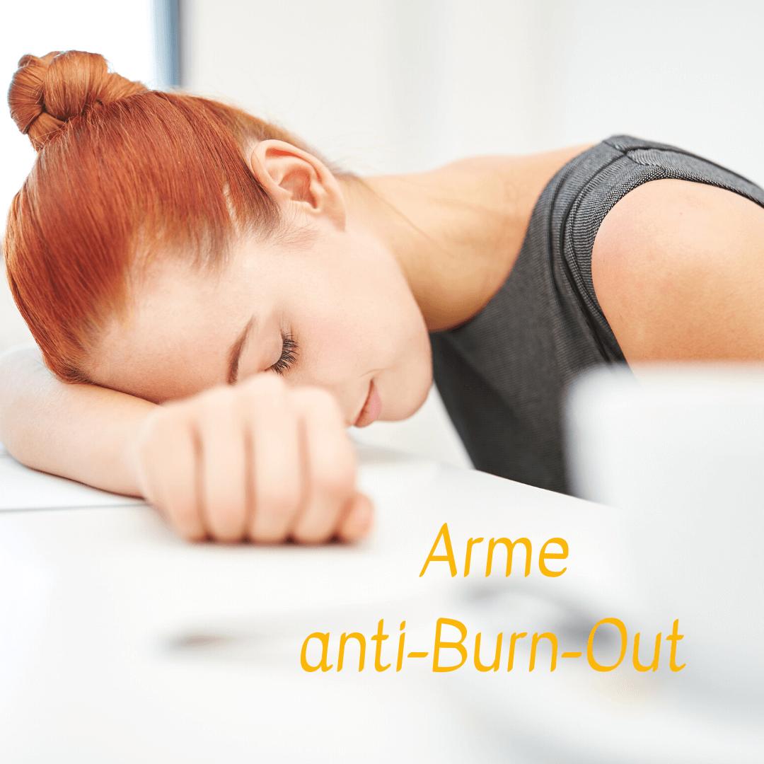 cycle menstruel arme anti burn-out