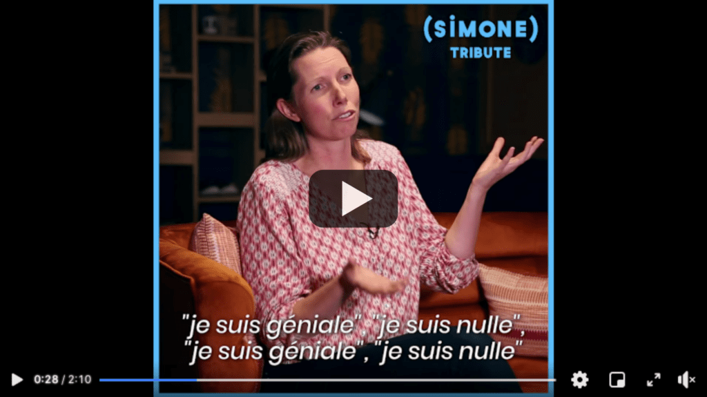 Vignette Gaelle Baldassari intervention pour Simone