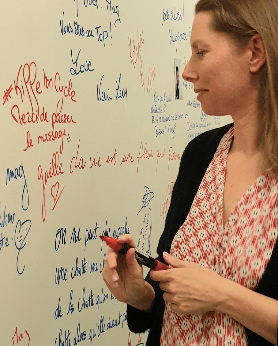 Illustration devenir ambassadrice Kiffe ton Cycle