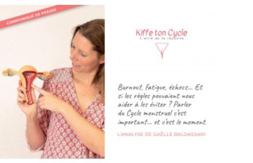 Gaelle Baldassari Parle de cycle menstruel