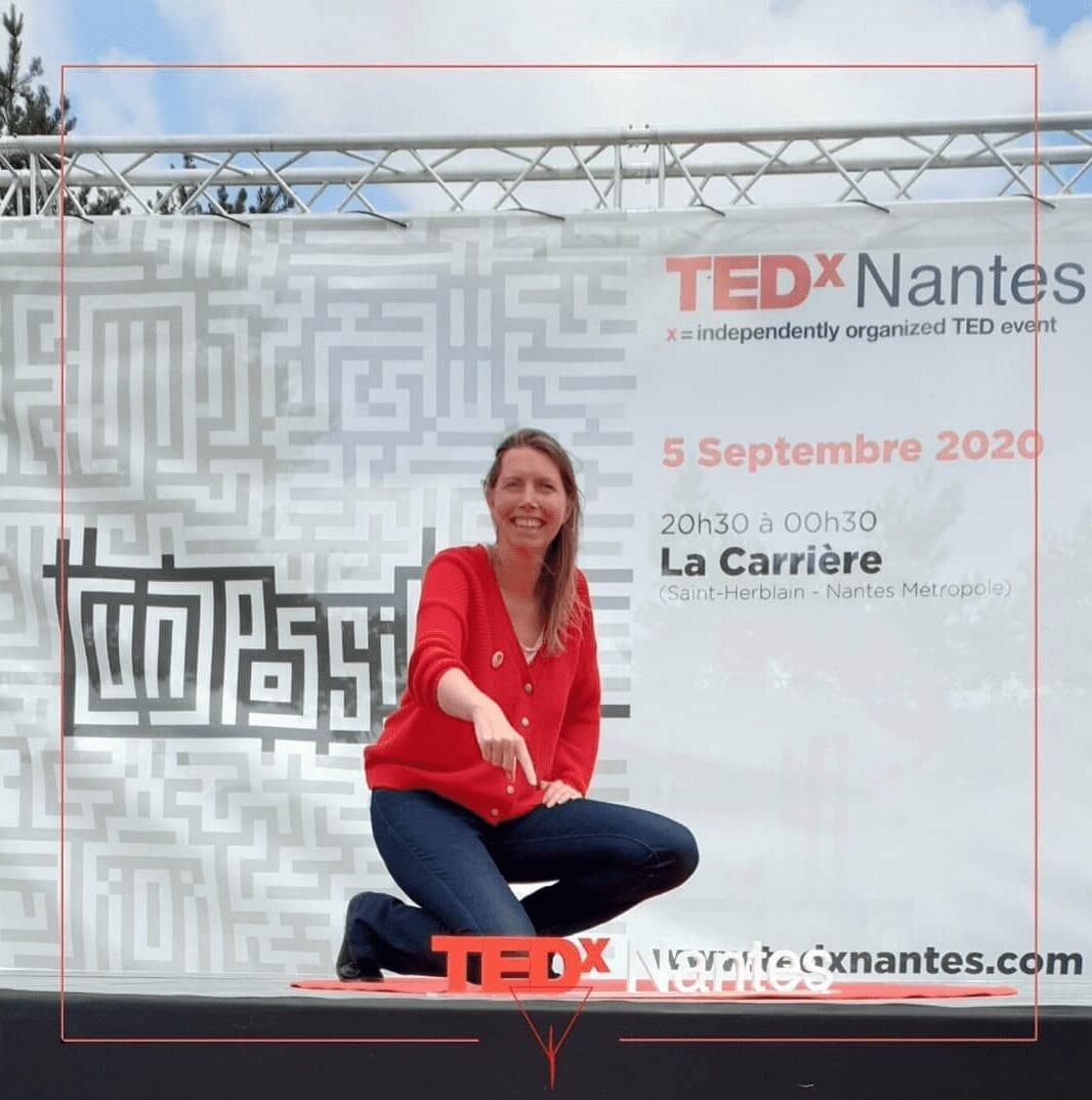 Gaelle Baldassari au TEDx de Nantes
