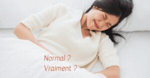douleurs de règles : c'est normal d'avoir mal ?